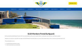SLSA Member Portal - North Cottesloe Surf Life Saving Club