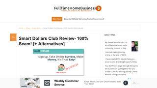 Smart Dollars Club Review- 100% Scam! [+ Alternatives]   Scam ...
