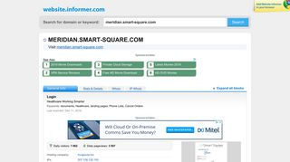 meridian.smart-square.com at Website Informer. Login. Visit Meridian ...