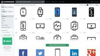 Smart square login meridian icons - 21,782 free & premium icons on ...