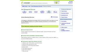 Online Banking Services : Sumitomo Mitsui Banking Corporation