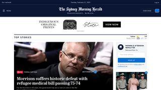 Australian Breaking News Headlines & World News Online | SMH.com ...