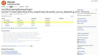 "Bug #1646784 ""/usr/lib/snapd-glib/snapd-login ... - Launchpad Bugs"