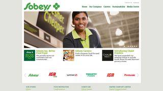 Sobeys Corporate: Homepage