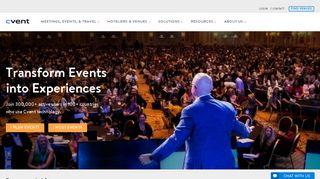 Cvent: Event Management Software & Hospitality Solutions