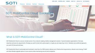 SOTI MobiControl Cloud