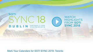 SOTI SYNC 18 - Mobile Technology Event