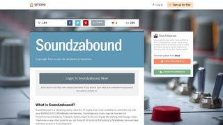 Soundzabound | Smore Newsletters
