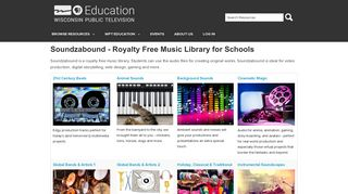 Soundzabound - Royalty Free Music Library for Schools | Wisconsin ...