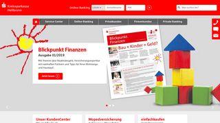 Kreissparkasse Heilbronn: Internet-Filiale
