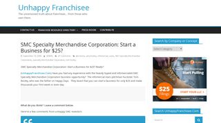 SMC Specialty Merchandise Corporation: Start a Business for $25 ...
