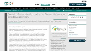 Specialty Merchandise Corporation has Changed it's Name to Smart ...