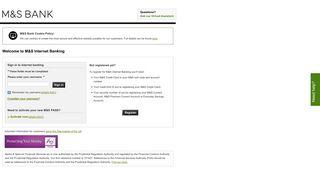 Sign In or Register - Marks & Spencer