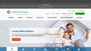 Northwest Bank - Banking, Mortgage and Auto Loans, Credit Cards ...