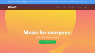 Music for everyone - Spotify
