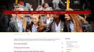 sQuid | Townley Grammar School