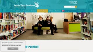 Leeds West Academy - sQuid Secure Payments