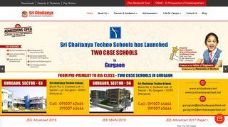 Sri Chaitanya | NEET UG Coaching-JEE Main-IIT JEE Coaching