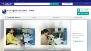 SS Corporate Securities Limited, New Delhi - Trader of Derivatives ...