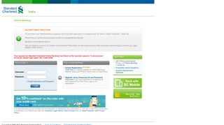 Register using Temporary ID and Password - Standard Chartered ...