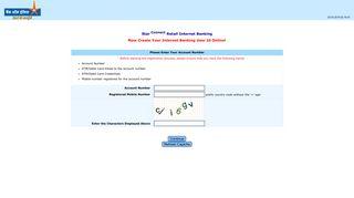 ONUR: Online Internet Banking User Creation