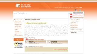 BarodaConnect - A Hi-Tech Convenience eBanking Product suite of ...