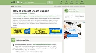 How to Contact Steam Support | wikiHow