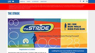 The Stride | Littleton Public Schools