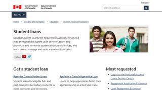Student Loans - Canada.ca