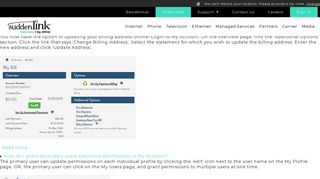 My Account | Suddenlink Business