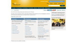 Sun Life Financial - Group benefits