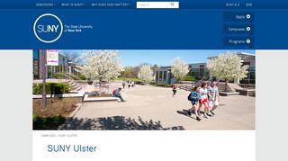 SUNY Ulster - SUNY