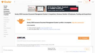 Surety 2000 Insurance Document Management System Competitors ...