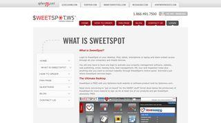 SweetSpot - Executive Dashboard   Property ... - SweetSpot.ws