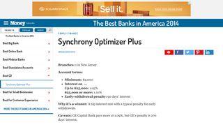Synchrony Optimizer Plus | MONEY