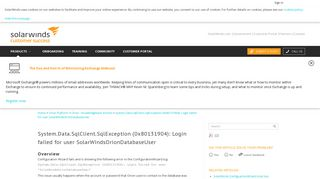 System.Data.SqlClient.SqlException (0x80131904): Login failed for ...