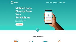 Tala Kenya – Giving credit where it's due