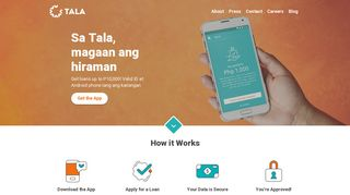 Tala Philippines – Giving credit where it's due