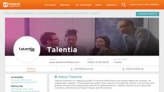 16 Customer Reviews & Customer References of Talentia ...