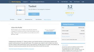 Is TaxBot a Scam?   Real 2019 Customer Reviews   BestCompany.com