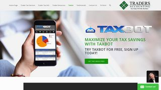 Day Trader Tax Software - Taxbot Mileage & Expense Tracking App