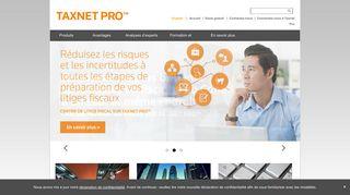 Constatez la différence de Taxnet Pro