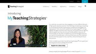 MyTeachingStrategies® - Teaching Strategies