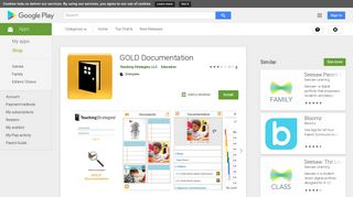 GOLD Documentation - Apps on Google Play