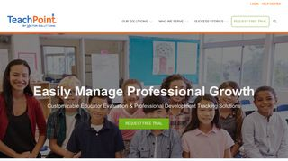 TeachPoint Customizable Educator Evaluation & PD Tracking ...