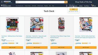 Amazon.com: Tech Deck: Stores