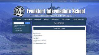 Teacher Links - Mineral County Schools