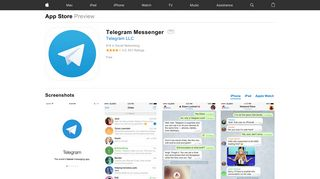 Telegram Messenger on the App Store - iTunes - Apple