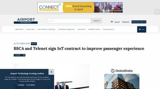 BSCA and Telenet sign IoT contract to improve passenger experience
