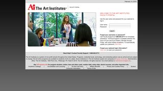 My Pages - Login - The Art Institutes